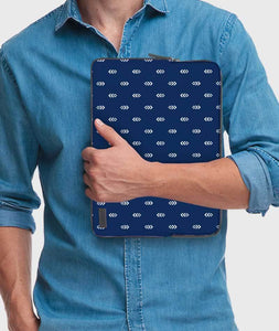 Flowing Upside Down Laptop Sleeve - Roucy