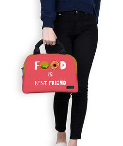 Food Is Best Friend Briefy Lunch Bag - Roucy