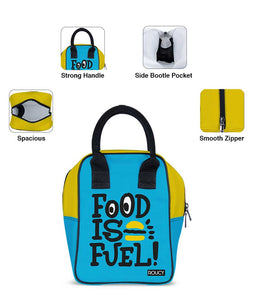 Food Is Fuel Lunch Trapeze Lunch Bag