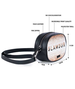 Glitter And Glamour Tablet Belt Bag - Roucy