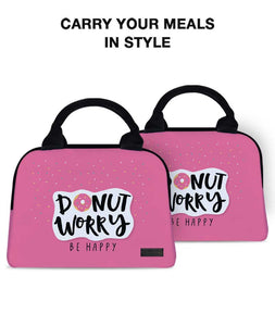 Happy Donut Briefy Lunch Bag - Roucy