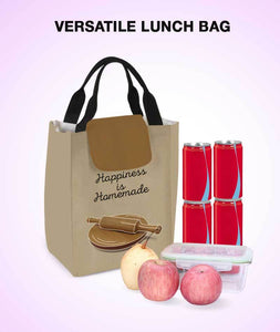 Homemade Happiness Lunch Bag - Roucy