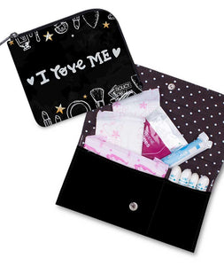 I Love Me Sanitary Pouch Set