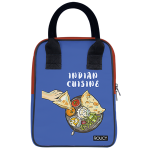 Indian Cuisine Lunch Trapeze Lunch Bag