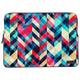 "Interlaced Structures Laptop Sleeve 14"" - Roucy"