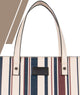 Long Line Beige Top Handle Bag Medium - Roucy