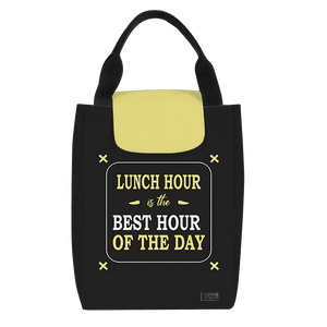 Lunch Hour Best Hour Lunch Bag - Roucy