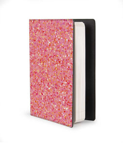 Matt Glitter Black Designer Notebook - Roucy