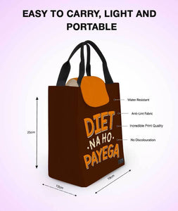 No Diet Lunch Bag - Roucy