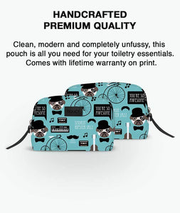 Pug In Swag Toiletries Pouch - Roucy