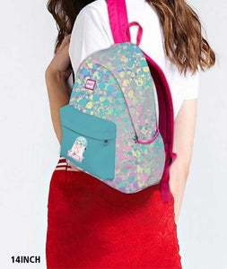 Sassy Psychedelic Pink Backpack - Roucy