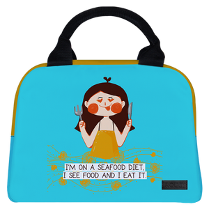 Seafood Diet Briefy Lunch Bag - Roucy