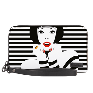 Stripper Jade Black Women's Clutch - Roucy
