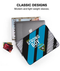 Strong Boy Team Laptop Sleeve - Roucy