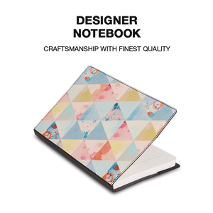 Summer In Air Black Designer Notebook - Roucy