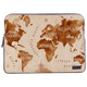 The World Is Here Laptop Sleeve - Roucy