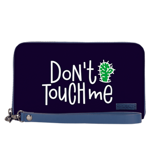 Too Picky To Touch Space Blue Women's Clutch - Roucy