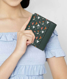 Tri Melons Double Zip Fold Wallet - Roucy