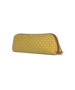 White Spots Tan Essential Pouch - Roucy