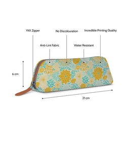Yellow Garden Tan Essential Pouch - Roucy