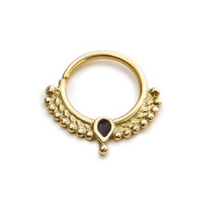 Gold Nose Hoop - Veronica