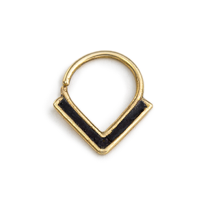 Gold Septum Ring - Zoe