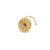 Alice - 14K Gold And Enamel Ear Jewelry