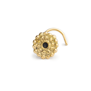 Gold Nose Studs - Alice