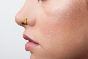 Gold Nose Ring - Sheyenne