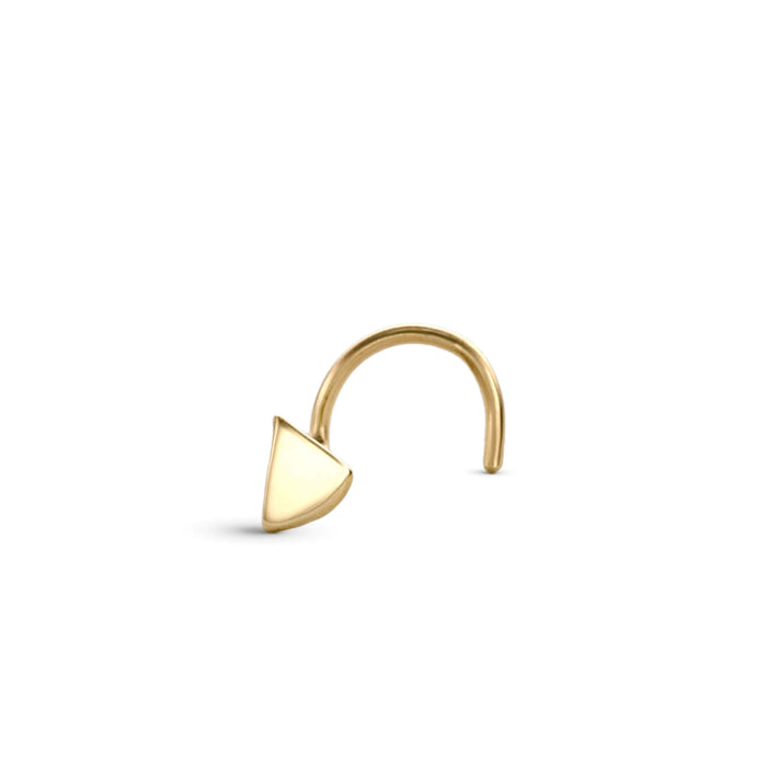 Tiny Tragus Stud Earring Jewelry in 14k Solid Gold - Mae