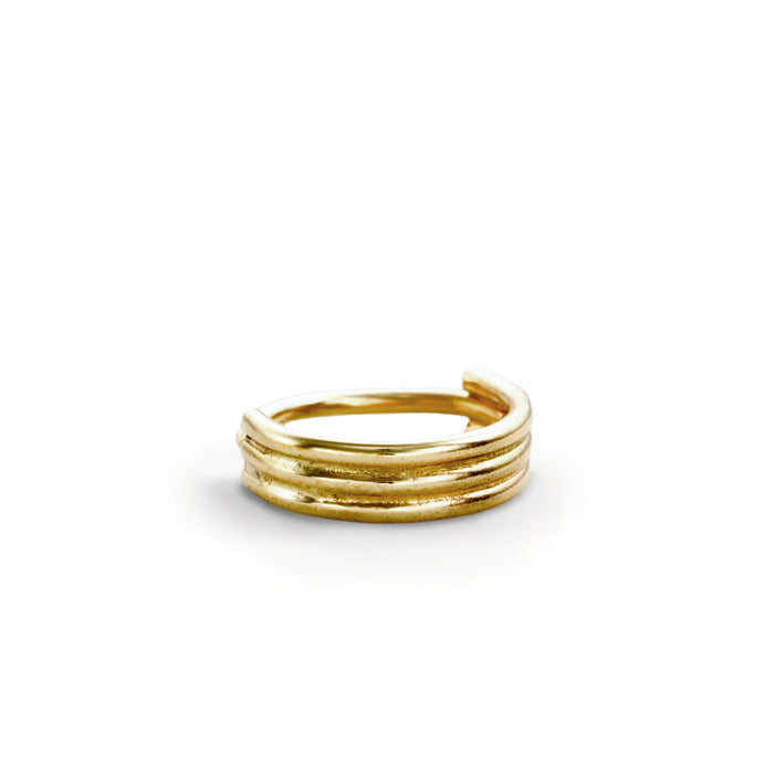Cartilage Hoop Earring in Gold - Sandra