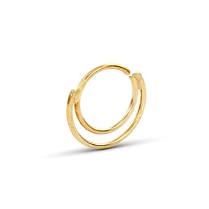 Nose Piercing Hoop Jewelry in Solid 14k Gold - Lilianna
