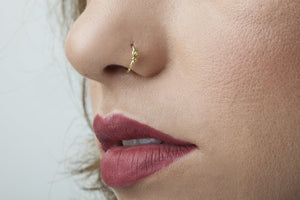 Diamond Nose Ring - Scarlette