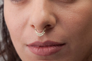 Gold Septum Ring - Priya