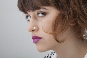 Gold Nose Studs - Layla
