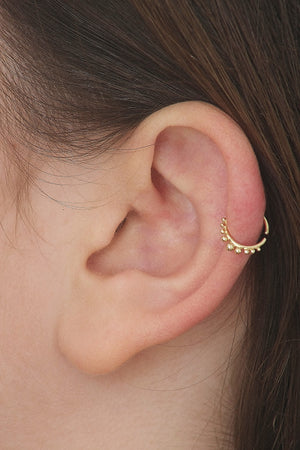 Gold Helix Piercing Jewelry - Laura