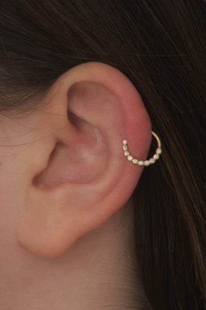 Diamond Cartilage Earring | Studio Meme