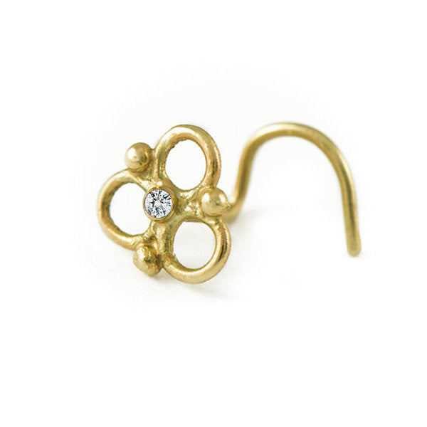 Diamond Nose Ring - Anjaly