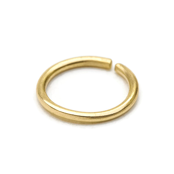 14k Solid Gold Cartilage Hoop Earrings Jewelry - Enso