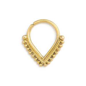 Gold Septum Ring - Tatjana