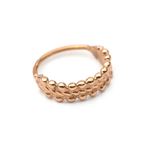 Gold Nose Ring 14K - Anouk