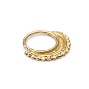 14k Solid Gold Daith Crescent Ear Jewelry  -  Isabelle