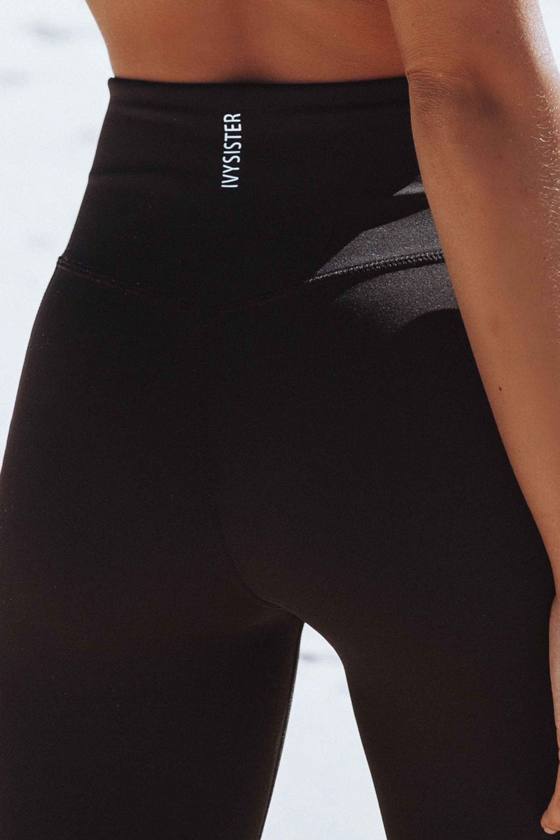Georgia Black Leggings - Ivysister
