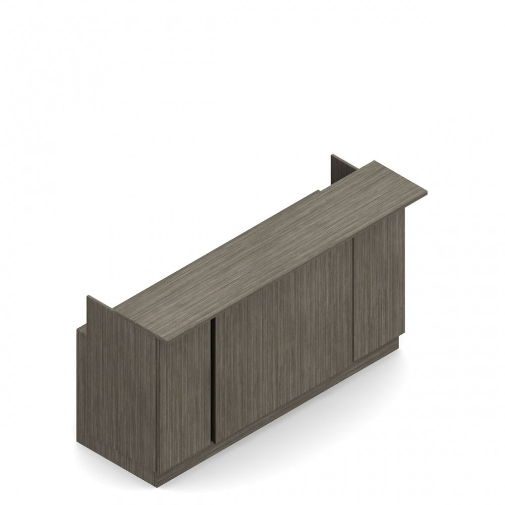 "Zira Reception Desk, 101.4""W x 30""D"