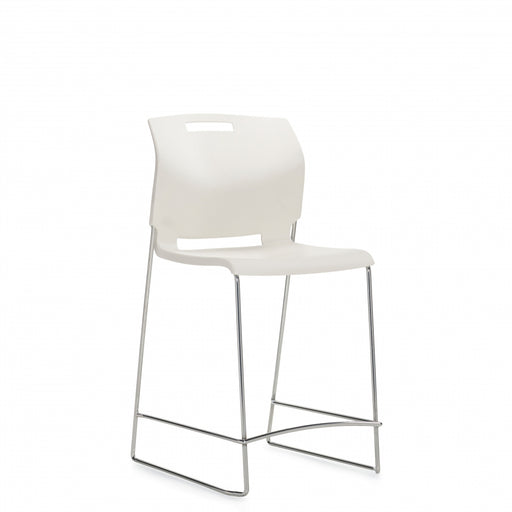 Popcorn™ Armless Counter Stool, Polypropylene Seat & Back (6711CS)