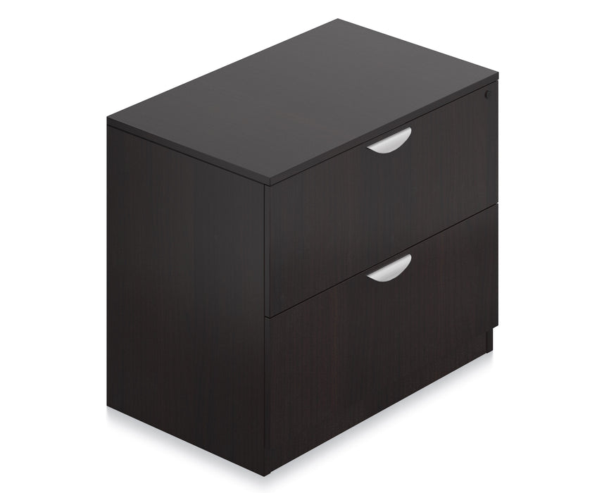 Two-Drawer Lateral File With Lock