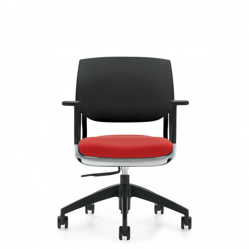 Novello™ Task, Upholstered Seat & Polypropylene Back (6400)