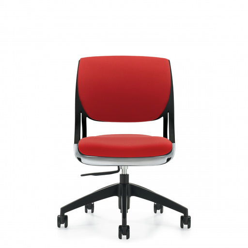 Novello™ Armless Task, Upholstered Seat & Back (6403)