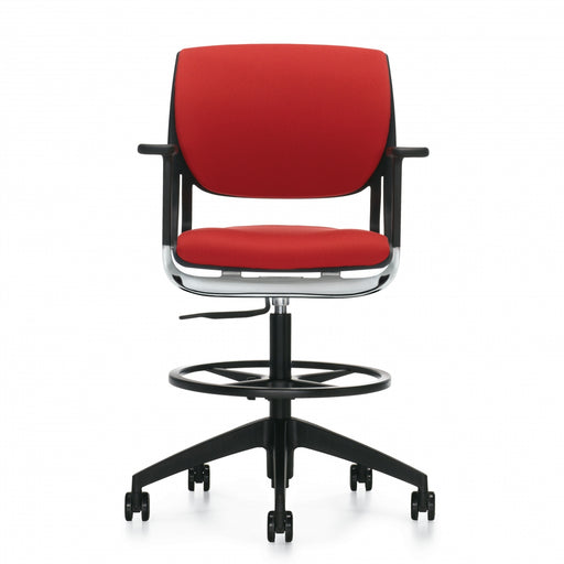 Novello™ Task Stool, Upholstered Seat & Back (6412)