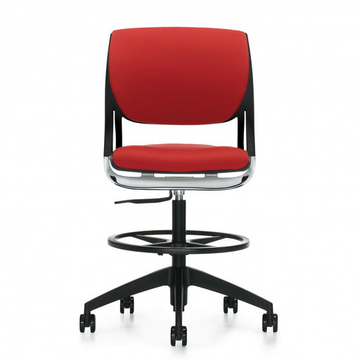 Novello™ Armless Task Stool, Upholstered Seat & Back (6413)